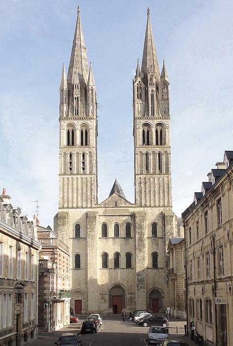 Abadia Aux Hommes - Caen - França