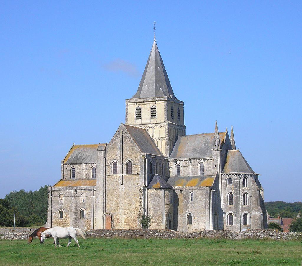 Abadia de Cerisy le Foret - Normandia - França