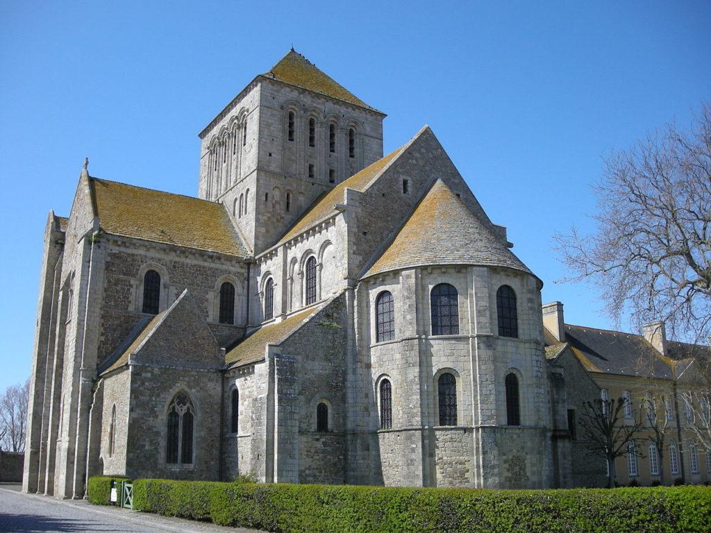 Abadia de Lessay - Normandia - França