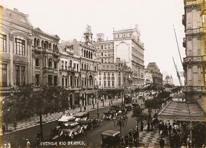 Avenida Central - Hotel Palace é o mais alto
