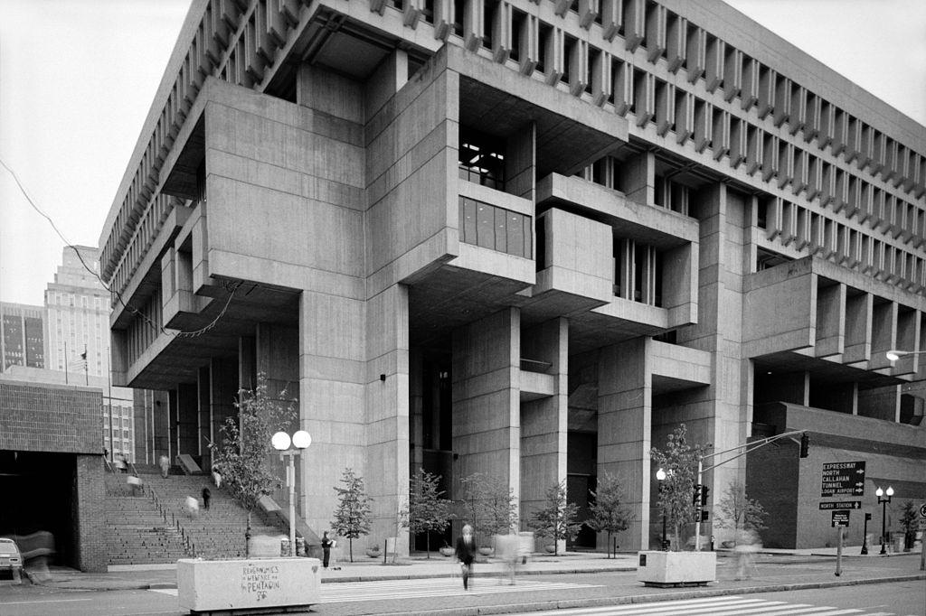 Boston City Hall - 1968