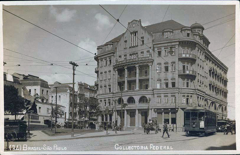 Cinema Central - Collectoria Federal - 1924