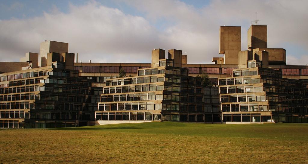 Dormitórios da University of East Anglia - 1966