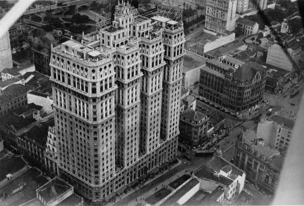 Edifício Martinelli Vista Aérea - 1929