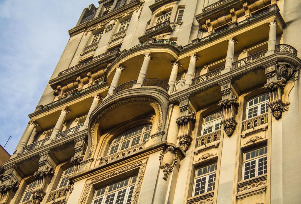 Edifício Sampaio Moreira - Detalhes da Fachada