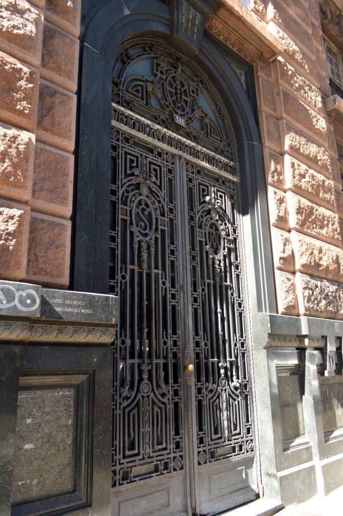 Edifício Sampaio Moreira - Porta