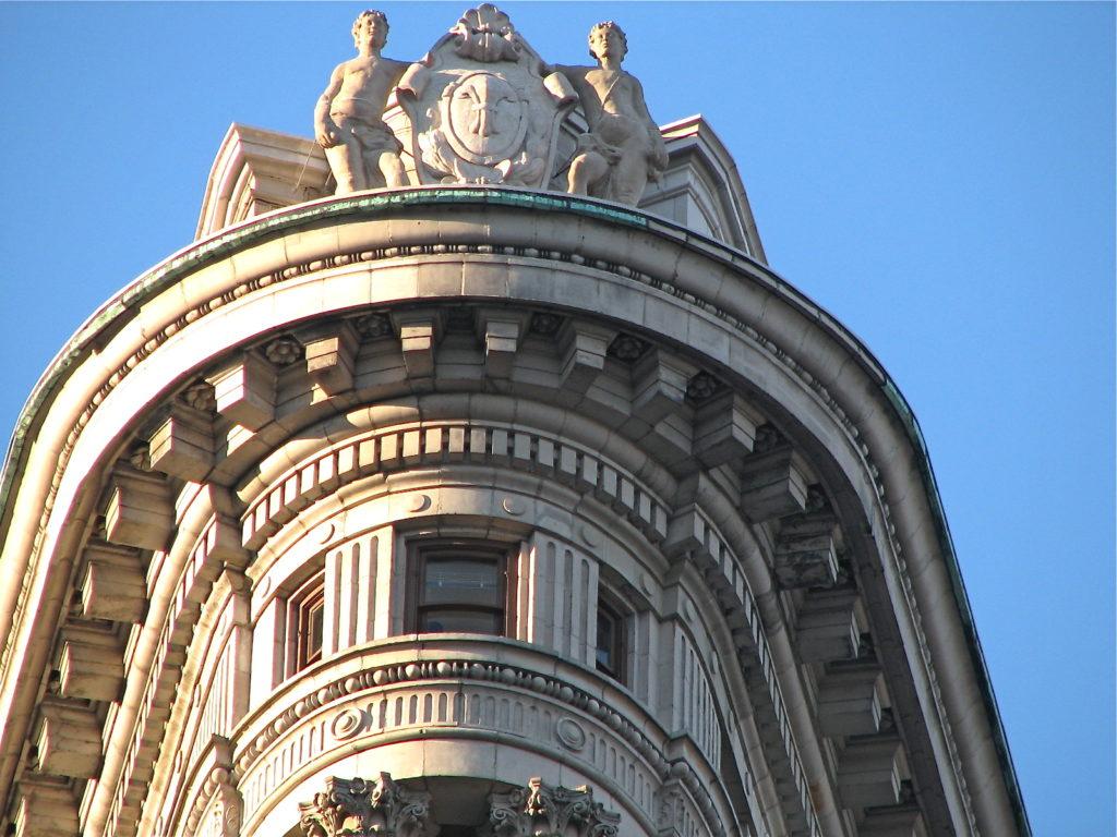 Flatiron Building - Detalhe do Topo