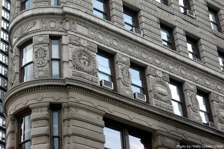Flatiron Building - Detalhes da Fachada