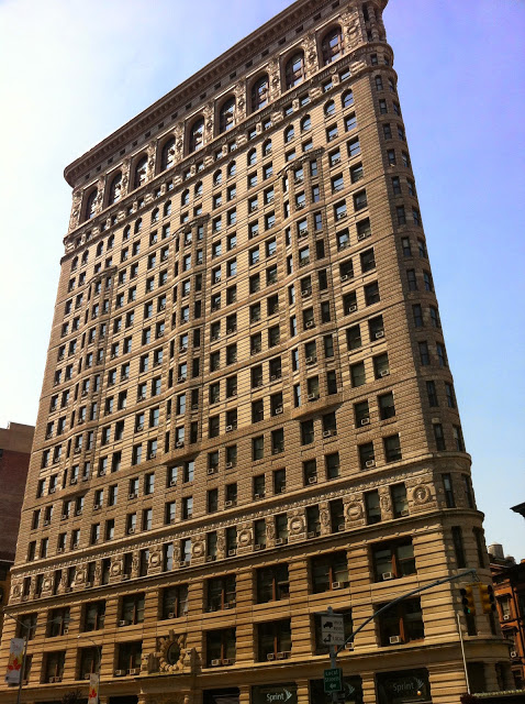 Flatiron Building - Fachada Frontal