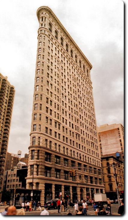 Flatiron Building - Fachada Lateral