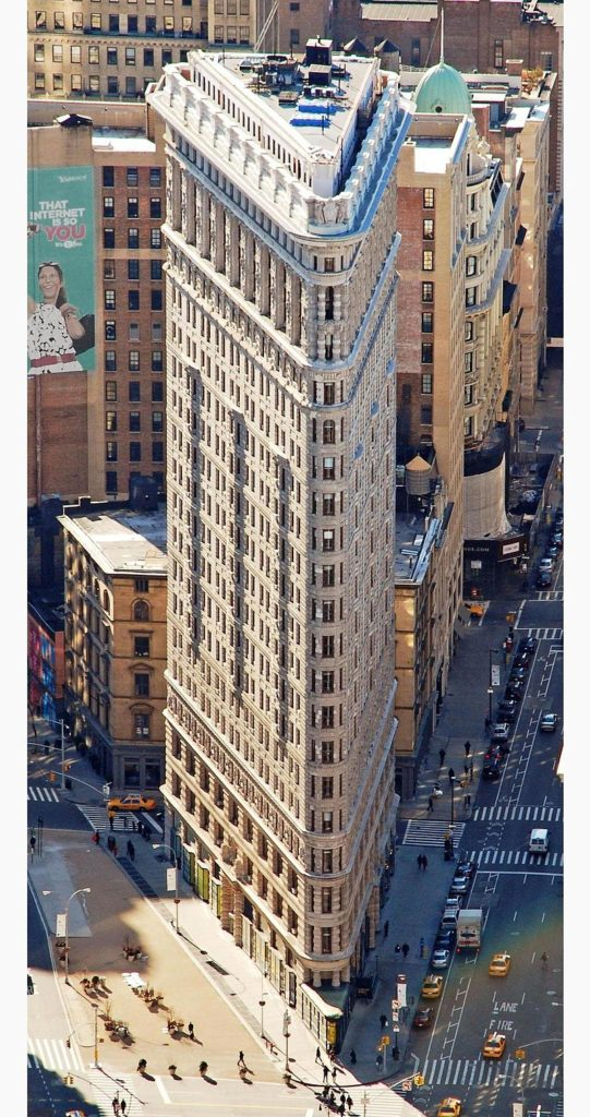 Flatiron Building - Fuller Building - 2010 - Visto do Empire State