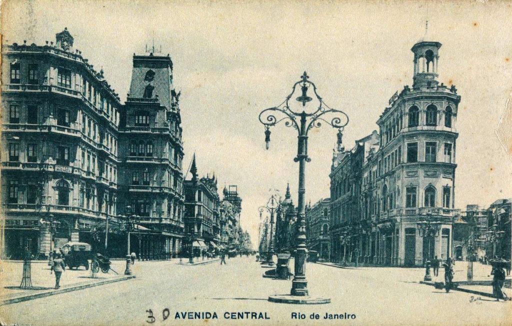 Hotel Avenida e Avenida Central - 1912