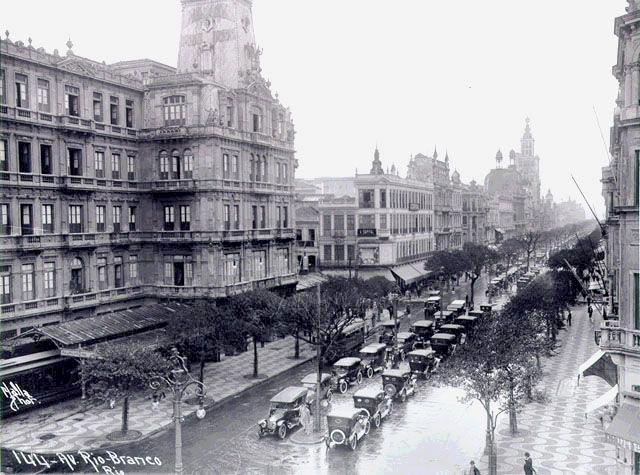 Hotel Avenida - 1920 - Foto: Augusto Malta