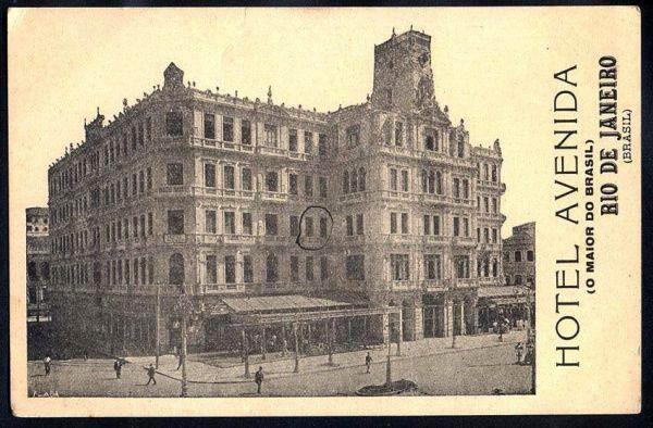 Hotel Avenida - Cartão Postal
