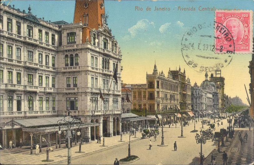 Hotel Avenida - Cartão Postal - Colorido