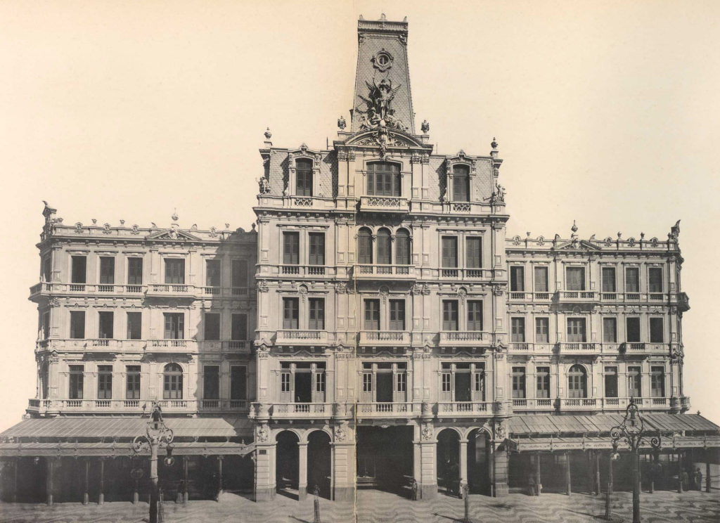 Hotel Avenida - Detalhes da Fachada - Marc Ferrez