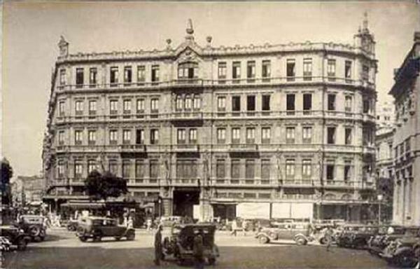 Hotel Avenida - Fachada de trás -1907