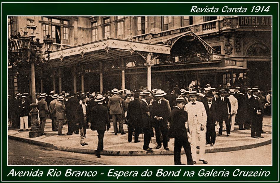 Hotel Avenida - Galeria Cruzeiro - Revista Careta 1914