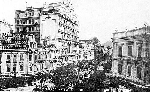 Hotel Palace - Av Central - 1925