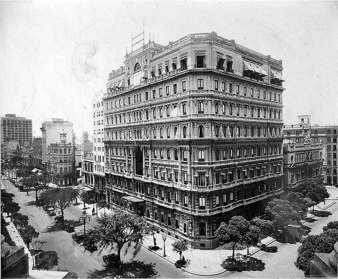 Hotel Palace - Av Central com Almirante Barroso - 1926