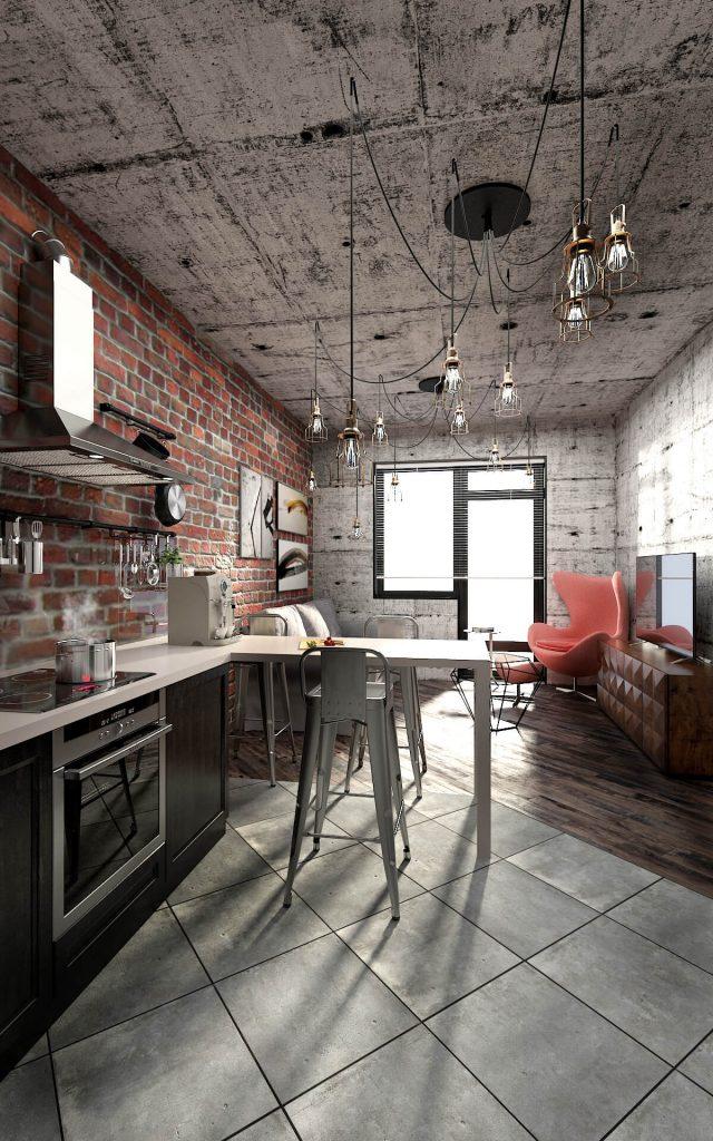 Industrial Style - Apartamento