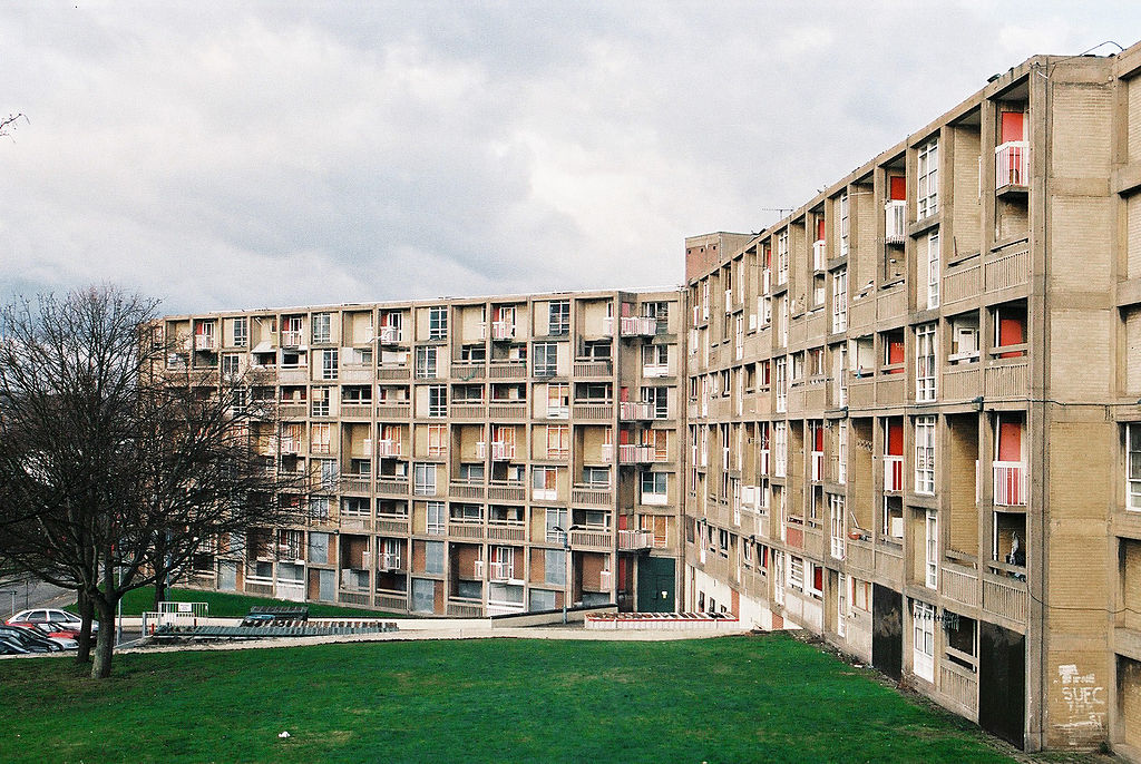 Park Hill Flats - Sheffield - 1961