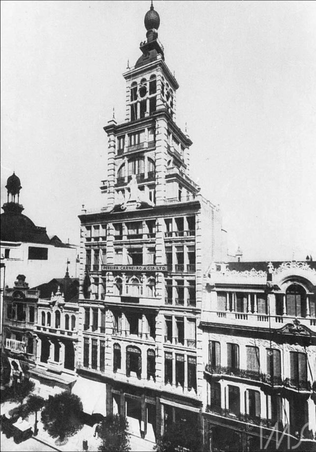 Predio do Jornal do Brasil - 1908 - Marc Ferrez