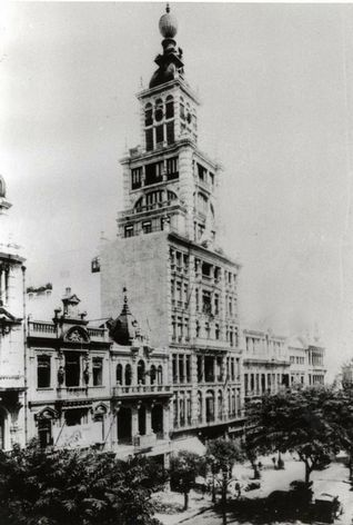 Predio do Jornal do Brasil - Avenida Rio Branco - 1910 - 2