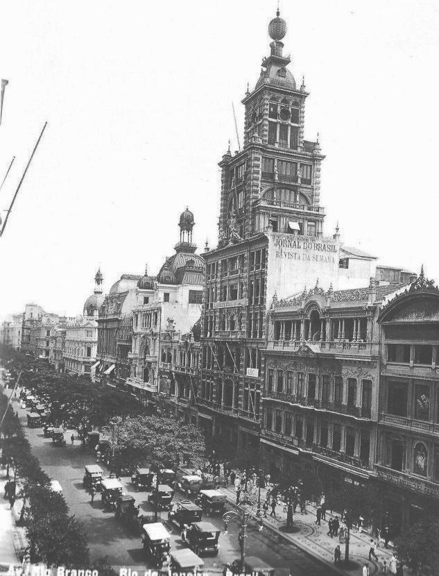 Predio do Jornal do Brasil - Avenida Rio Branco - 1912