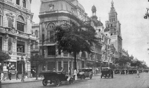Predio do Jornal do Brasil - Avenida Rio Branco - 1915