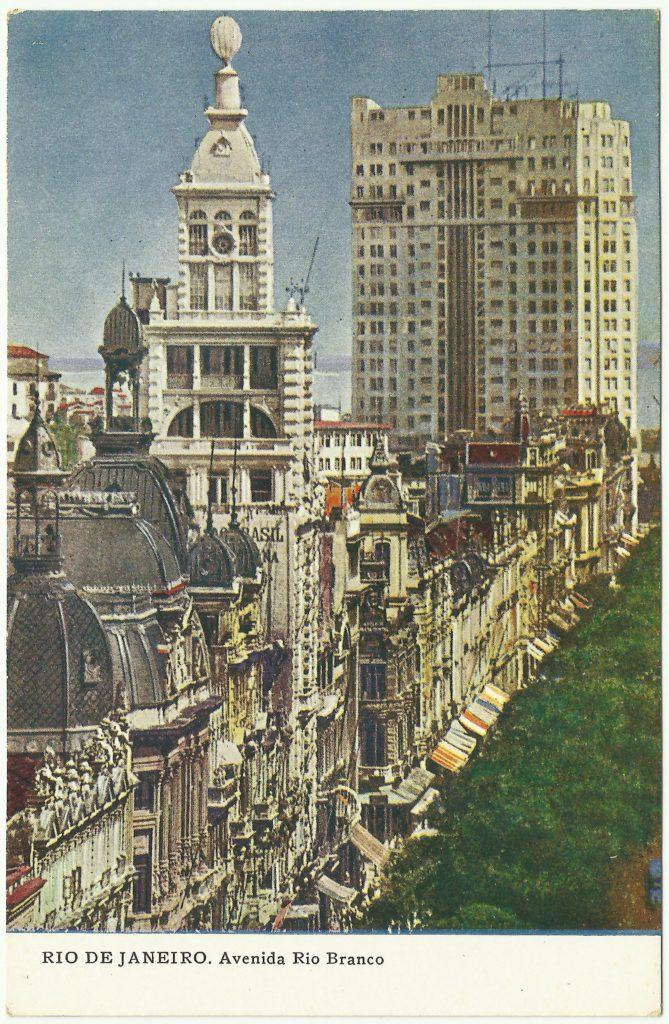 Predio do Jornal do Brasil - Avenida Rio Branco - 1930