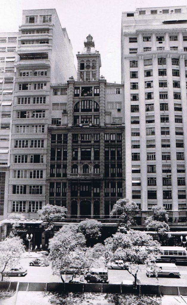 Predio do Jornal do Brasil - Avenida Rio Branco - 1960