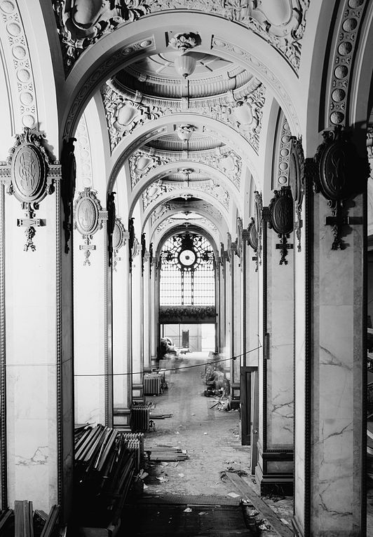 Singer Building - Interior