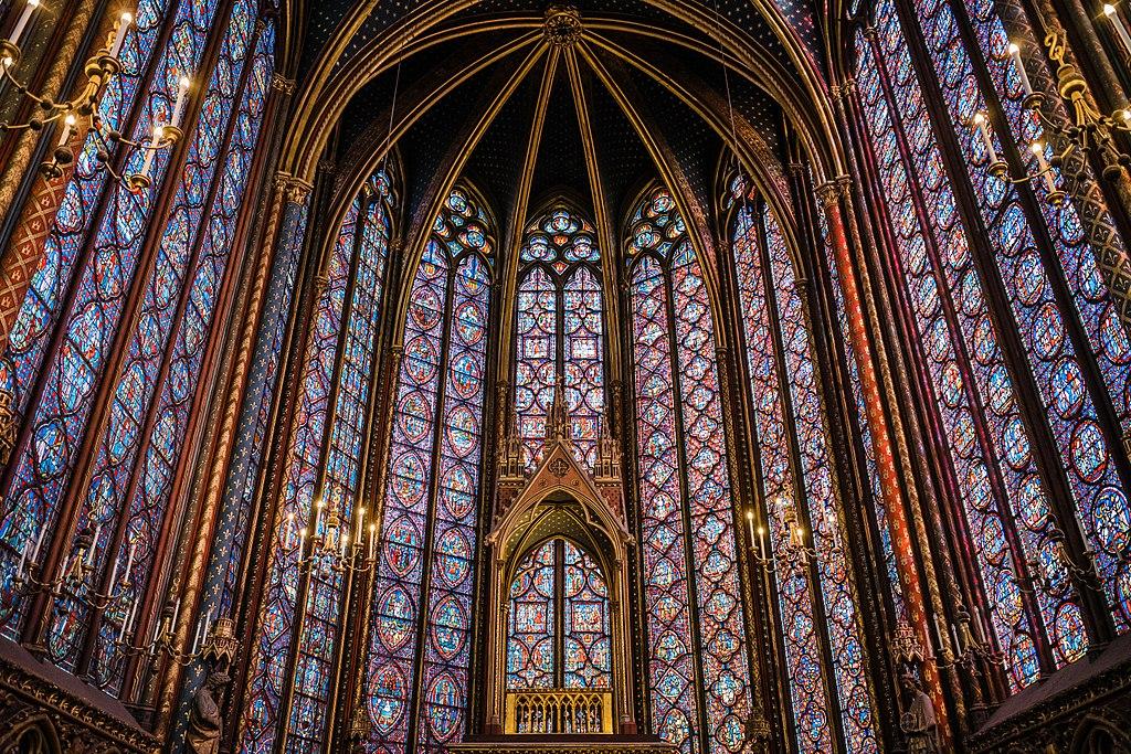 Vitrais da Sainte-Chapelle - Paris