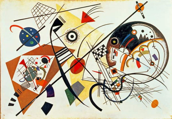 Wassily Kandinsky - Intersecting Lines - 1923