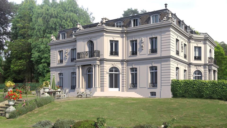 Casa em Surrey - Inglaterra - Arquiteto Quinlan Terry