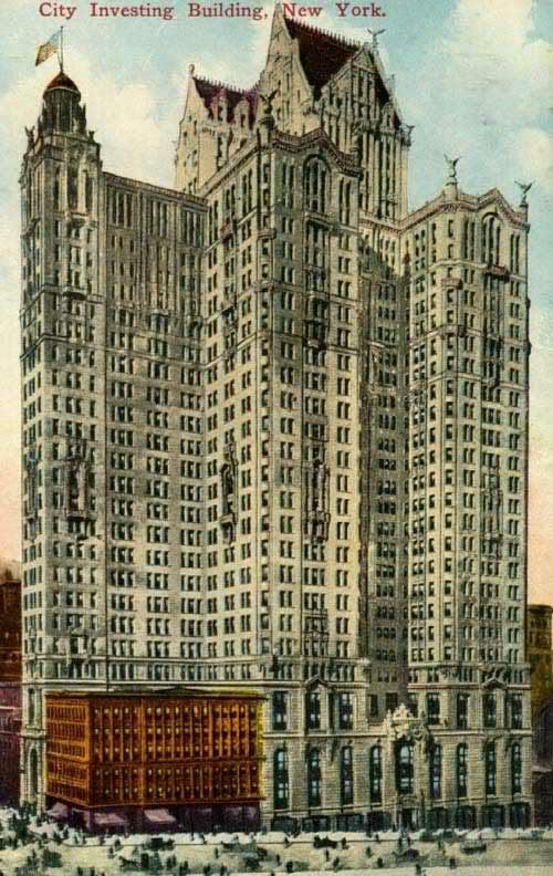City Investin Building - Ilustração