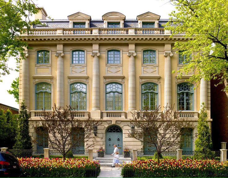 Casa em chicago eua estilos arquitet nicos for Casa revival gotica