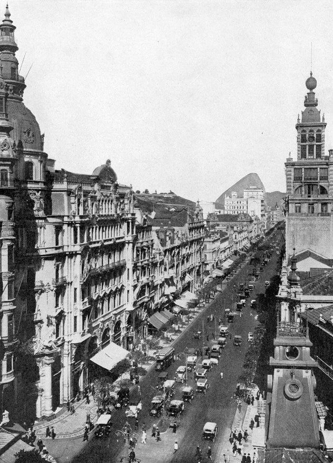 Jornal do Commercio - Av Rio Branco - 6 - 1919