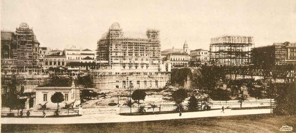 Palacetes Prates - Em construção