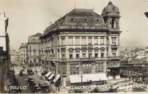 Palacetes Prates - Rua Libero Badaro