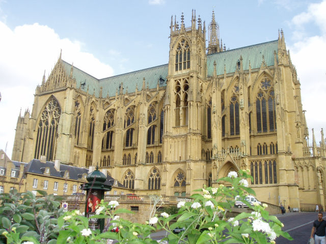 Catedral de Saint-Etienne em Metz