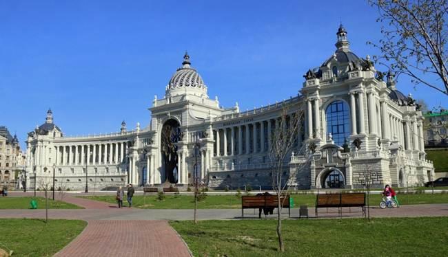 Palácio do Agricultor - Kazan - Rússia - 4