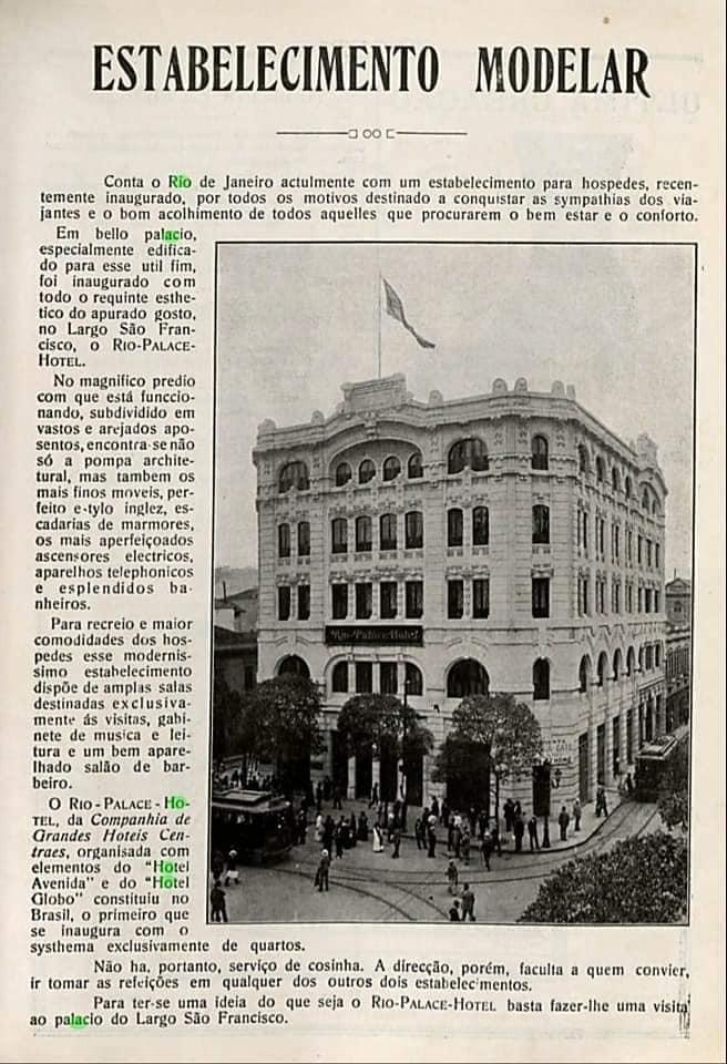 Reportagem - Rio Palace Hotel