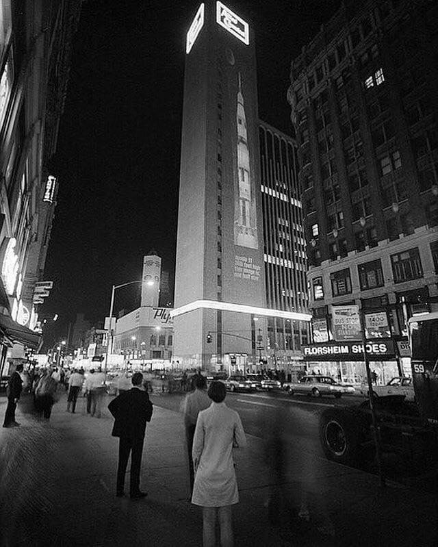 Times Square em 1969