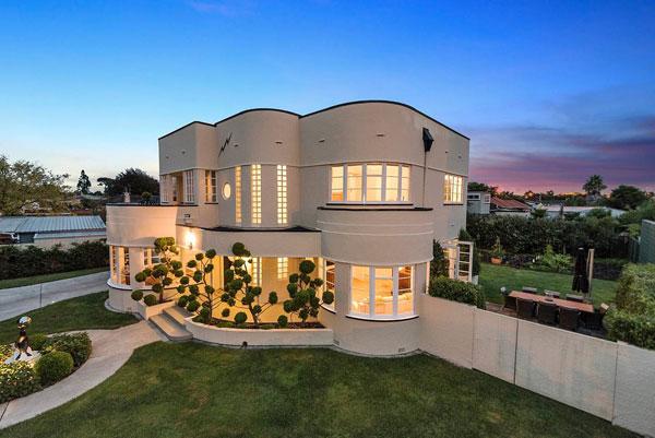 Casa em Arte Deco - Hamilton - Nova Zelandia