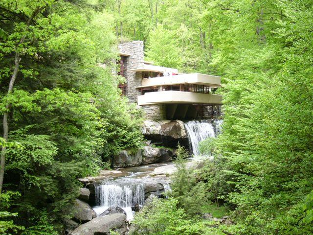 Fallingwater - Casa da Cascata - Wright