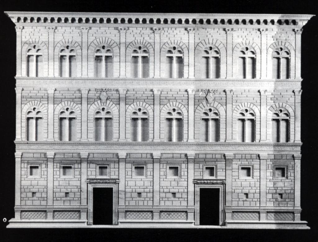 Fachada do Palazzo Rucellai
