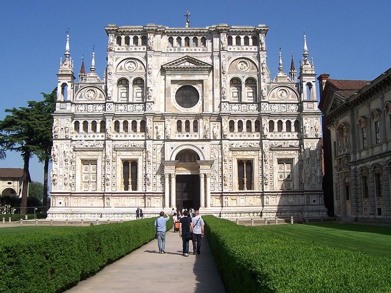 Igreja de Certosa di Pavia - Lombardia