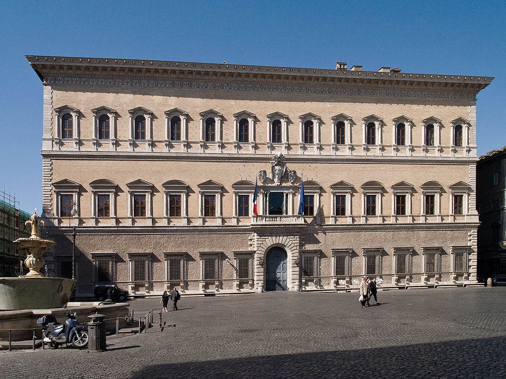 Palácio Farnésio - Roma